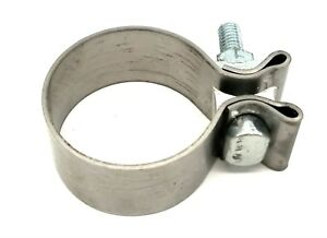 Stainless Steel 2 1 4 Exhaust Muffler Turbo Pipe Clamp Replaces Accuseal Usa