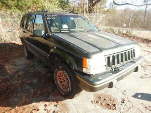 1991 1998 Jeep Grand Cherokee Roof Console And Sunvisors Custom