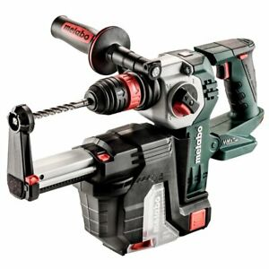Metabo 600211900 18 volt 1 inch Sds plus Rotary Hammer Drill W Hepa Vacuum