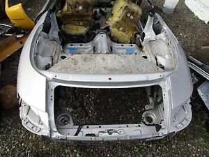 00 Porsche Carrera 911 Rwd Convertible Front Body Section Clip Panel Frame Oem