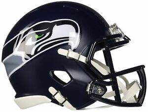 Seattle Seahawks Mini Helmet Speed Replica FAST USA SHIPPER