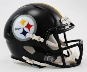 Pittsburgh Steelers Mini Helmet Speed Replica FAST USA SHIPPER