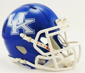 Kentucky Wildcats Mini Helmet Speed Replica FAST USA SHIPPER