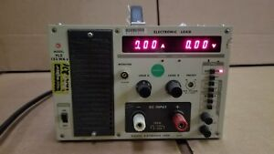 Kikusui Plz152wa Electronic Load Tested Good