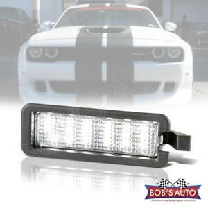 For 2015 2018 Dodge Charger Challenger Super White Led License Plate Lamp Light