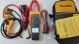 Nice Used Fluke 376 True Rms Ac dc Clamp Meter Iflex And More Great Tp 239409