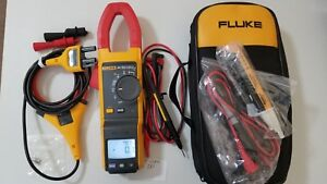 Lightly Used Fluke 381 True rms Ac dc Clamp Meter With Iflex More Sn 23290058