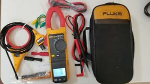 Used Fluke 381 True rms Ac dc Clamp Meter With Iflex More Sn 32100009ws