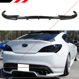 For 2013 16 Hyundai Genesis Coupe Walker Style Rear Bumper Lip Spoiler Diffuser