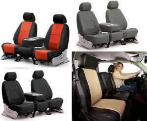 Synthetic Leather Coverking Custom Seat Covers For Kia Spectra