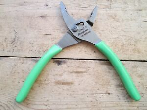 Snap On Extreme Green Slip Joint Pliers Three Position New Stock