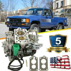 Aisan Style Carburetor For Toy 505 Toyota Pickup 22r 1981 1987 Green Round Plug