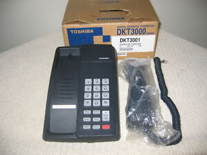 Nib Six 6 Toshiba Dkt3001 Digital Business Telephones