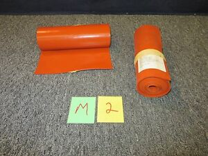 2 Silicone Rubber Sheet 1 16 9 5 10 Feet High Temperature Aircraft Military