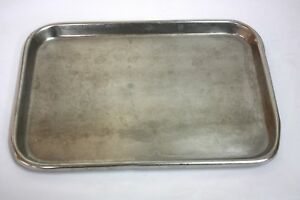 Polar Ware S 13 Stainless Steel Instrument Tray 283gs