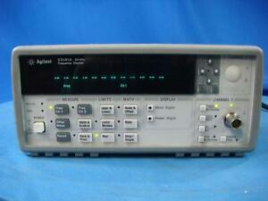 Agilent 53181a 10 Digit s 500 Ps Universal Frequency Counter