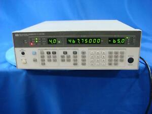 Agilent 8657a 1040 Mhz Rf Generator With Option 002