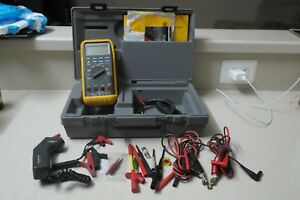 Fluke 88 Kit Automotive Multimeter Combo Kit W Fluke Infrared Temperature Probe