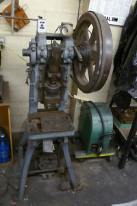 E w Bliss No 18 Punch Press Excellent Reliable Good Working Machine