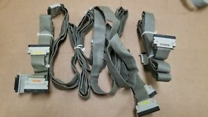 Hp 16500 Series Logic Analyzer Cables Lot Of 4