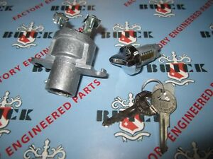 1954 1958 Buick Special Super Century Roadmaster Limited Ignition Switch W Keys