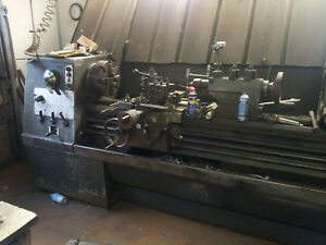 Clausing Colchester 17 x80 Lathe W taper Attach