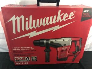 New Milwaukee 5317 21 1 9 16 Sds Max Rotary Hammer 10 5ams fkt003594