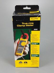 Fluke 325 True Rms Clamp Meter New