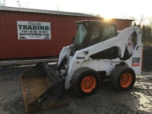 2003 Bobcat S300 Skid Steer Loader W Cab Coming Soon