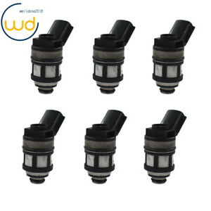 6x Fuel Injectors 16600 38y10 For 96 04 Nissan Frontier Pathfinder Xterra 3 3l