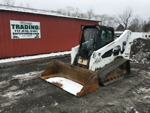 2012 Bobcat T750 Compact Track Skid Steer Loader W Cab Coming Soon