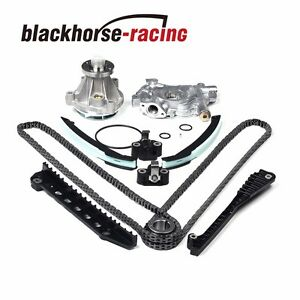 For Ford F150 Lincoln 5 4l 3v Triton 04 08 Timing Chain Oil Water Pump Kit