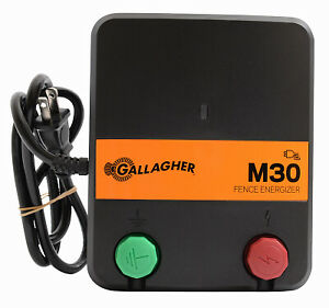 Electric Fence Charger M30 0 3 Joules 110 volt