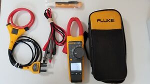 Look Used Fluke 376 True Rms Ac dc Clamp Meter Iflex And More Great Tp 224141