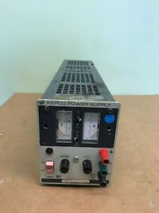 Kepco Jqe25 4m Dc Power Supply 115 230v 50 65hz
