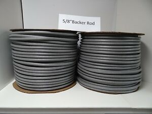 5 8 Closed Cell Foam Backer Rod 1550 Ft Expansion Joint