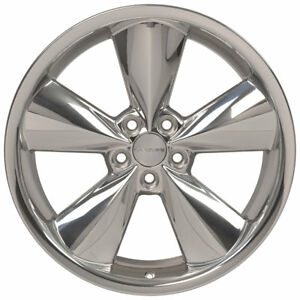 New 20x8 Genuine Oem Nto Rims Polished For 2006 2018 Dodge Challenger Charger