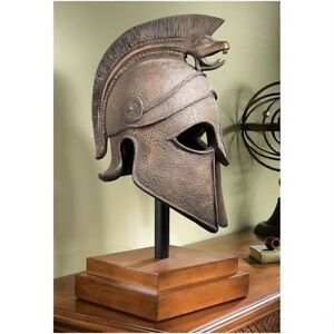 25 Ancient Greek Macedonian Helmet Museum Mount Model Sculpture