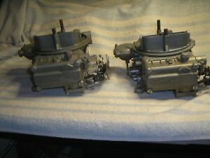 Holley 4239 s 4239s Tunnel Ram Carbs 396 402 427 454 502 Chevy Nostalgia 2x4