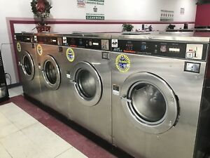 Speed Queen Commercial Coin Operated Front Load Washers 50lb Sc50md2 Washing