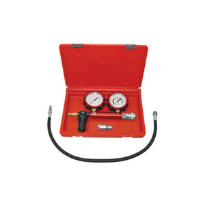 Automotive Cylinder Leak Down Tester Test Gauge Set Engine Cylinders Tool