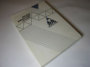 Tds Survey Gx Surveying Card For The Hp 48gx Manual And Overlay Boxed