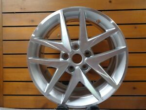 17 Ford Fusion 2010 2011 2012 Factory Oem Rim Wheel 3797 3979 Silver Machined