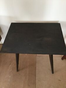 Mccobb Side Table Mid Century Modern Dark Stain