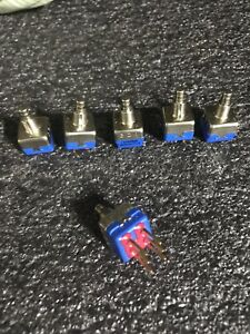6pcs Apem Push Button Switch 13435ad2k