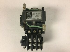 General Electric Ge Cr206d0 Size 2 Motor Starter With 120 Volt Coil