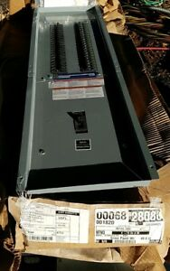New Square d 200 amp Indoor Main breaker Panel Load center Enclosure And Cover