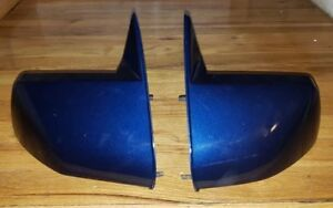 1988 1999 Chevy C1500 Left Right Pair 454ss Sport Mirrors Gmt400 K1500 Blue Used