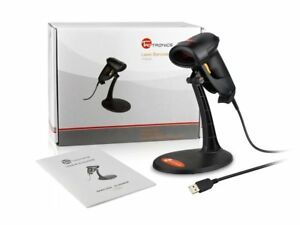 Taotronics Usb Barcode Scanner With Adjustable Stand Wired Bar Code 1d Laser