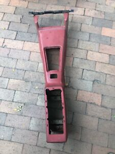 1970 1981 Firebird Trans Am Red Burgundy Automatic Center Console Base Assembly